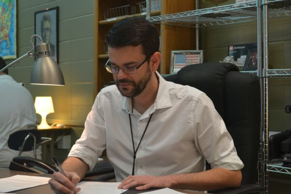 2017 CHAMPION YEARBOOK DEDICATORY -- Mr. Shawn Seals, Central's U.S. History teacher has been selected as the 2016 Dedicatory!
