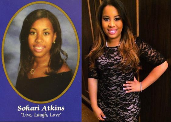 SOKARI ATKINS THE DIFFERENCES BETWEEN A HIGH SCHOOL GRADUATE AND A COLLEGE VETERAN-- Sokari Atkins, the daughter of the proud ninth grade Central guidance counselor, Karen Atikins, reminisces about high school and college life.