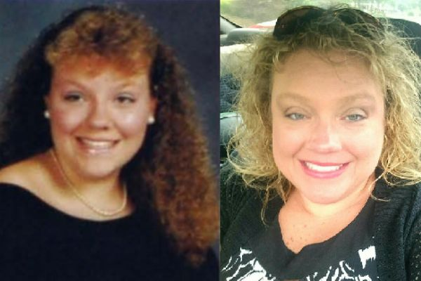AMANDA MCKINNEY THEN AND NOW -- Amanda McKinney reminisces about her past at Chattanooga Central High School.