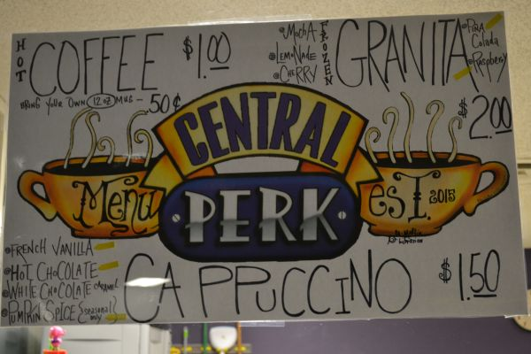 CLOSED FOR THE WEEK -- Vendor negligence has forced the temporary closure of Central High's coffee shop, Central Perk