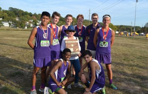 CROSS COUNTRY TAKES ON STATE -- The boys cross country team won regions and are now ready for state on November 4th.