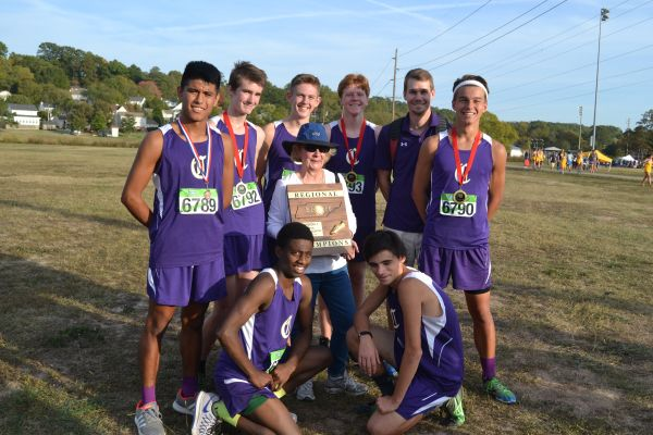 CROSS+COUNTRY+TAKES+ON+STATE+--+The+boys+cross+country+team+won+regions+and+are+now+ready+for+state+on+November+4th.