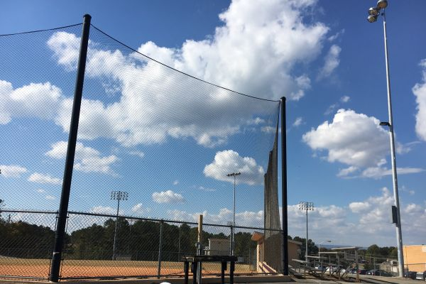 CENTRAL SOFTBALL PLAYERS WELCOME ADDITION OF LIGHTS -- The addition of lights on the softball field will benefit the entire school, not just the players!