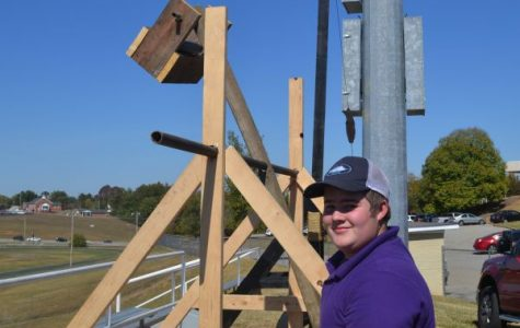 Physical World Concepts Students Launch Annual Catapults