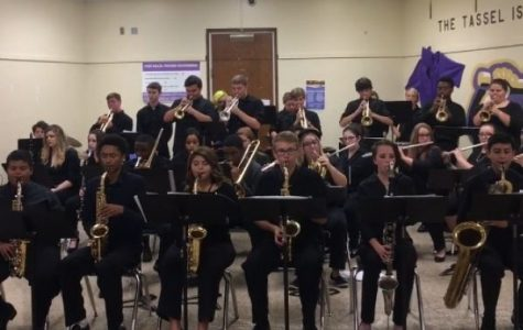 BUSY WEEK FOR CENTRAL'S CONCERT AND JAZZ BANDS - Students of the Jazz Band played quite the eccentric playlist at the jazz concert!