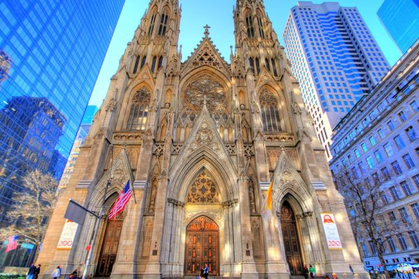 Tina Staton and EF Tours Provide You the Opportunity of a Lifetime -- St. Patrick's Cathedral looks stunning during daytime.