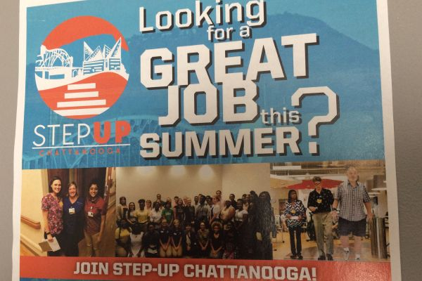 STEP-UP CHATTANOOGA -- For its second year, Step-Up Chattanooga will aid students in finding quality summer jobs.