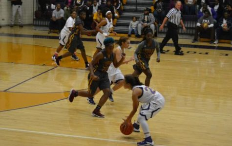 No Challenge For the Girls Basketball Team! – Pounders Take Win Against Hixson and Howard