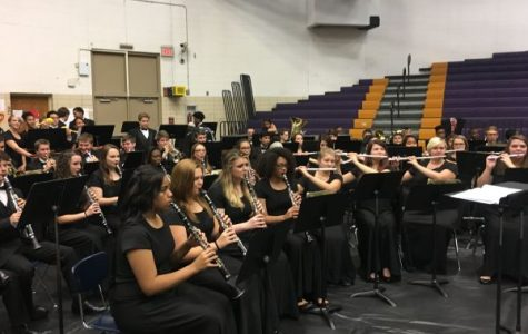 Central's Concert and Jazz Bands Perform for the Holidays