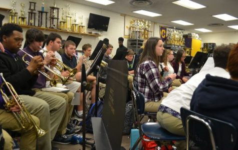 Central's Band Room Could Be Louder Than Knoxville's Neyland Stadium on Game Day