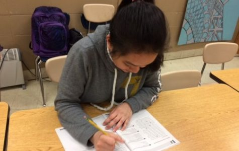 Central High School Students Take Practice ACT to Improve Scores