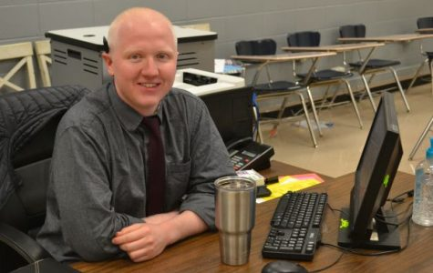 New Teacher James Massengale Has A Passion to Teach and a Taste for Cooking