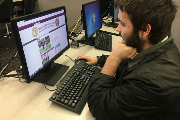 CENTRAL'S TECHNICAL COURSES ADD WEBSITE TO INCREASE INTEREST -- Central career and technical education classes create website to increase interest across the school.