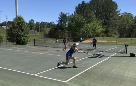 Tennis Season Ends with Central's Madi Blackburn Advancing to Regional Tournament