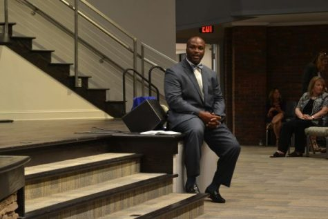 New Superintendent Addresses District Nine Community