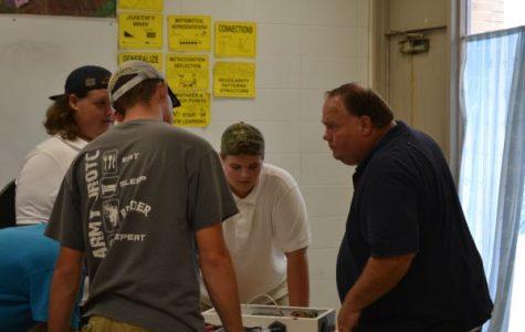 Teacher Spotlight: Central High Welcomes New Mechanics and Construction Teacher Mr. Webb