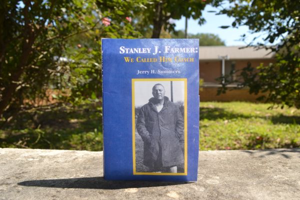 WE CALLED HIM COACH -- Pictured above is Jerry Summers new book on the life of Stan Farmer