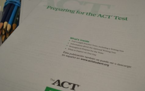 Seniors Are Preparing For Free ACT Retake