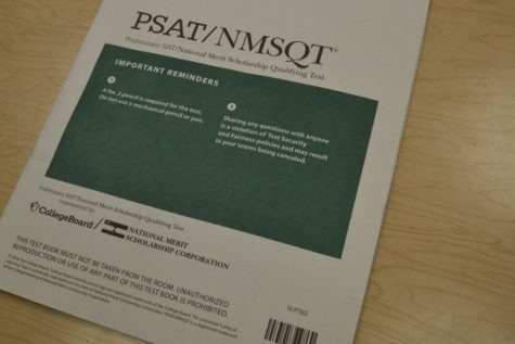 Sophomores and Juniors Take the PSAT Assessment