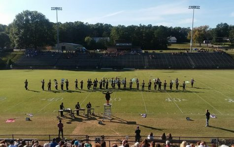 Central's Marching Band Celebrates First Place in A Bradley Classic Competition