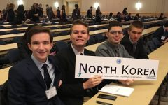 Central Students Represent North Korea at Southeastern High School Model United Nations