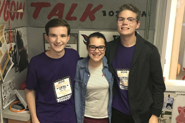 THREE CENTRAL STUDENTS FEATURED ON WGOW SEGMENT