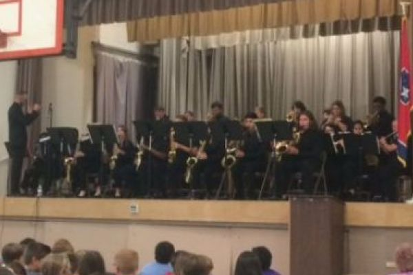 Central High Jazz Band Receives Standing Ovation At Wallace