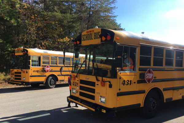CENTRAL QUESTIONS BUS SAFETY IN REMEMBRANCE OF  WOODMORE  CRASH -- Bus safety has been a growing concern for the community after a fatal bus crash involving students from Woodmore Elementary.