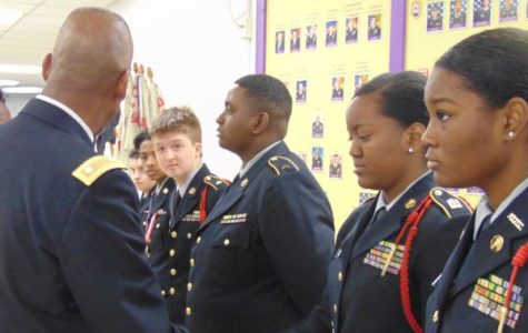 Central's JROTC Program Stresses The Importance of Inspection Day