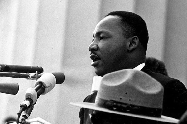 I HAVE A DREAM -- Martin Luther King gave many hope-sparking speeches throughout his time.