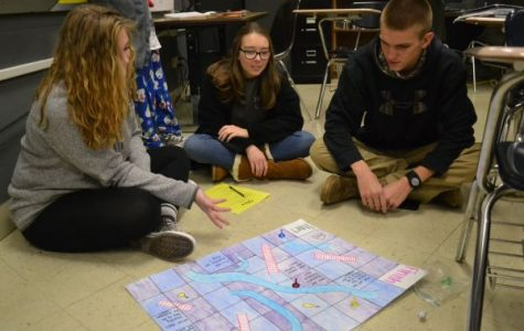 Honors English 11 Students Create 'A Streetcar Named Desire' Board Games
