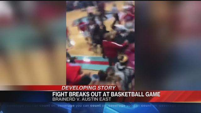 BRAINERD BRAWL LEADS TO SUSPENSION AND CONCERNS FOR STUDENT SAFETY--  Brainerd High School is being questioned on if it's safe to attend.