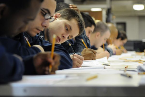 HIGH SCHOOL STUDENTS TESTING -- Testing is one of the most important and serious things of the school year.