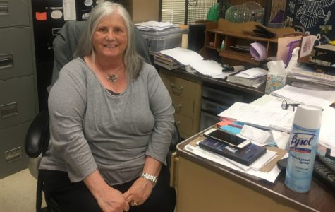 PSYCHOLOGY AND SOCIOLOGY TEACHER TINA STATON REMINISCES ABOUT HER YEARS OF TEACHING AT CENTRAL -- Staton has revealed that she will be retiring from teaching after this year.