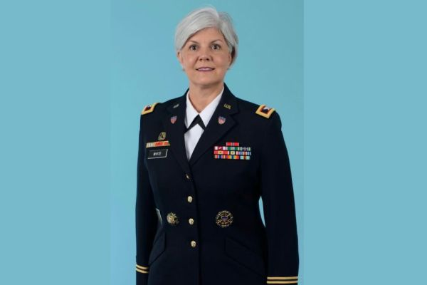 FROM CENTRAL HIGH TO THE PENTAGON -- Jeanine White ('89) now is a Colonel in the United States Military.