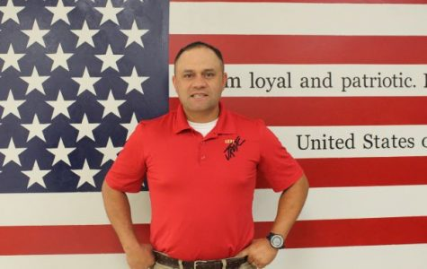 After 25 Years in the Military, Major David Spencer, Joins Central as New JROTC Educator