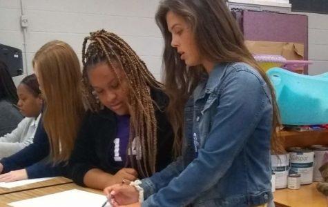 Teacher Spotlight: Hannah Goering Apprentices in Art Program