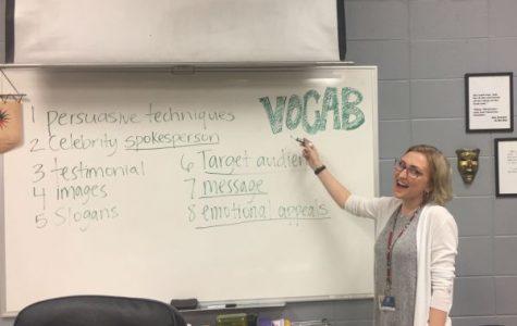 English Student Teacher, Samantha Lange, Pursues a Career in Teaching