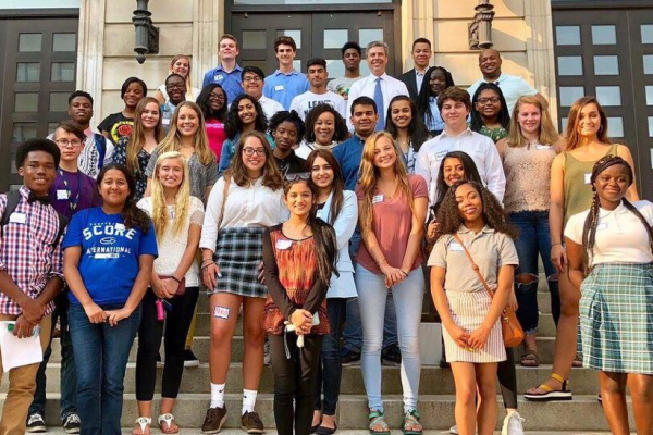 MAYOR'S YOUTH COUNCIL OFFERS OPPORTUNITIES FOR STUDENTS-- The group of 40 students are eager for positive changes and learning opportunities.