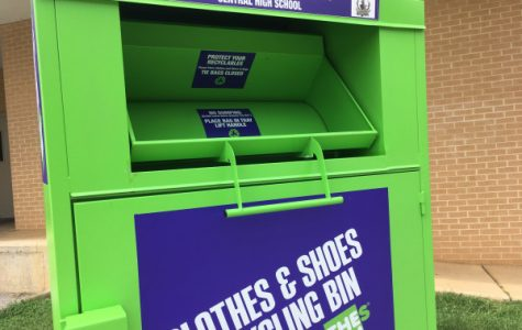 Central Continues to Accept Donations to the Clothes Bin