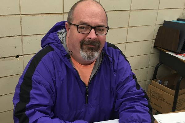 TEACHER SPOTLIGHT: NEW ISS MONITOR DON GRAY HELPS STUDENTS STAY ON TRACK -- Don Gray enjoys spending his time with the students at Central.