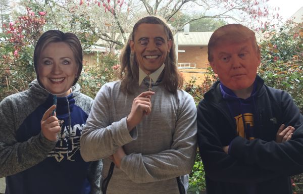 POLITICS HAVE BECOME EVEN MORE POLARIZED -- (Left to Right) Hillary Clinton, Barack Obama, and Donald Trump, have served as great leaders of the United States, yet sides fail to agree with the other.