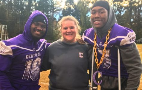 Central High School Athletic Trainer, Sammie Jones, Makes an Effort to Keep Student Athletes Safe