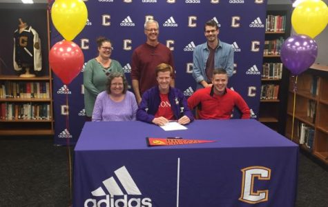 Central Cross Country Runner Nathen Vander Wilt Signs to Bryan College