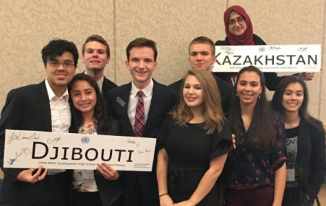 Central Students Succeed as Delegates of Djibouti, Kazakhstan at Local Model United Nations Conference