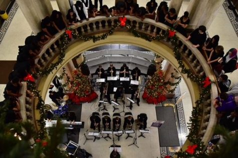 Central's Music Department Spreads Holiday Cheer with Christmas at the Courthouse Performance