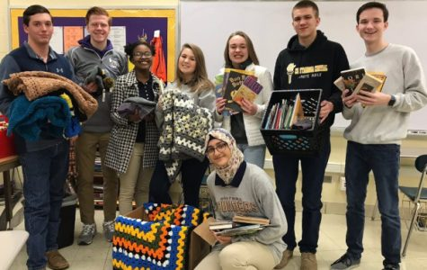 Donate Books and Hats to the National Honor Society in Support of Erlanger's Oncology Department