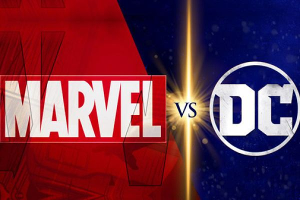 MARVEL AND DC BATTLE FOR THE BOX OFFICE  -- From comic books to movies, Marvel and DC have competed for the spotlight for years, and many fans debate on which company packs a better punch.