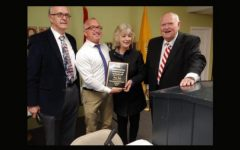 Principal Finley King is Presented with Freedoms Foundation Distinguished Educator Award