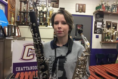 Student Spotlight: Georgia-Rae Teems Continues to Lead the Central Sound to Success
